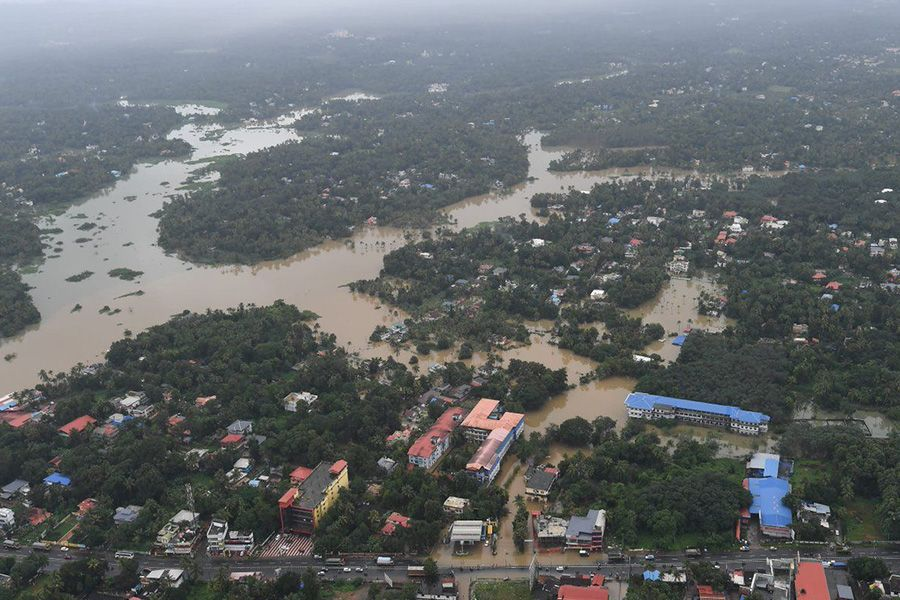 Kerala Flood rehabilitation rebuild health