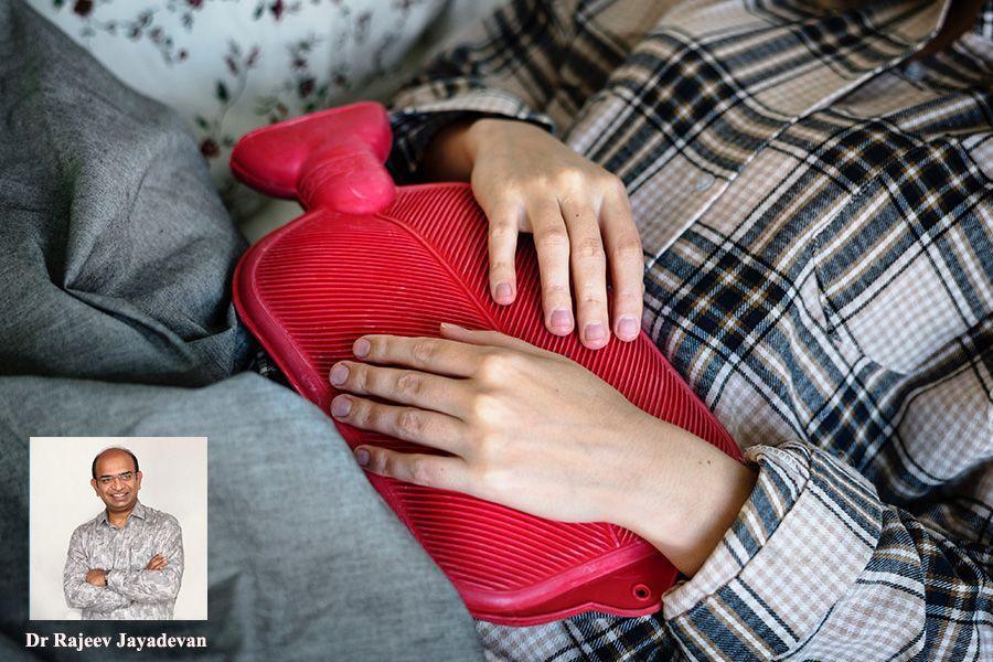 Interesting case of self inflicted abdominal injury By Dr Rajeev Jayadevan