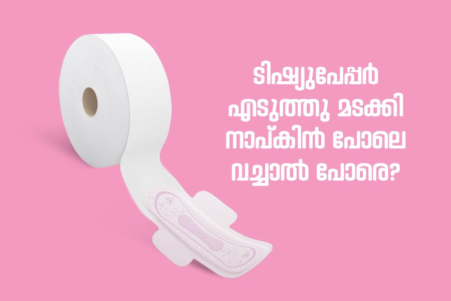 Stop using tissue paper as sanitary pads, expert warns