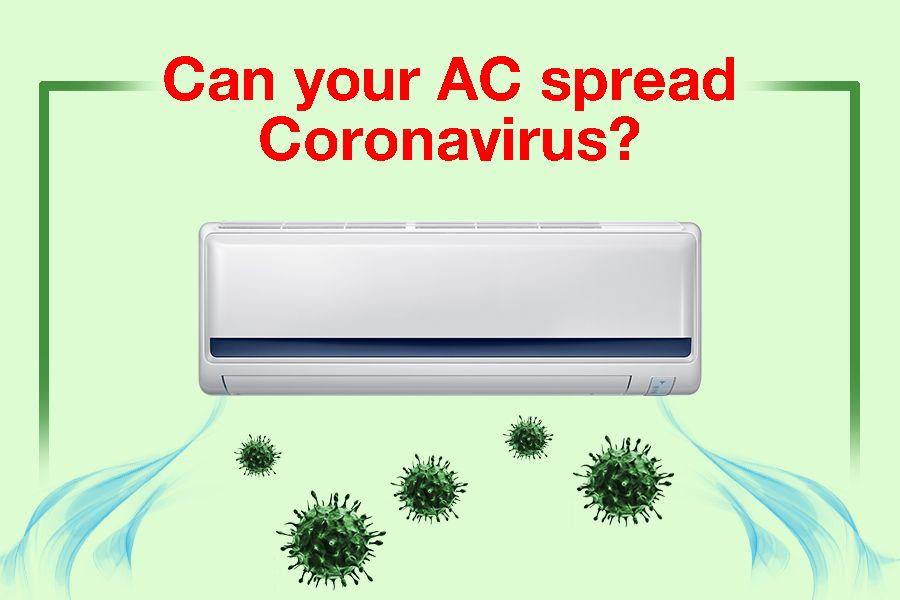 Can AC spread coronavirus?